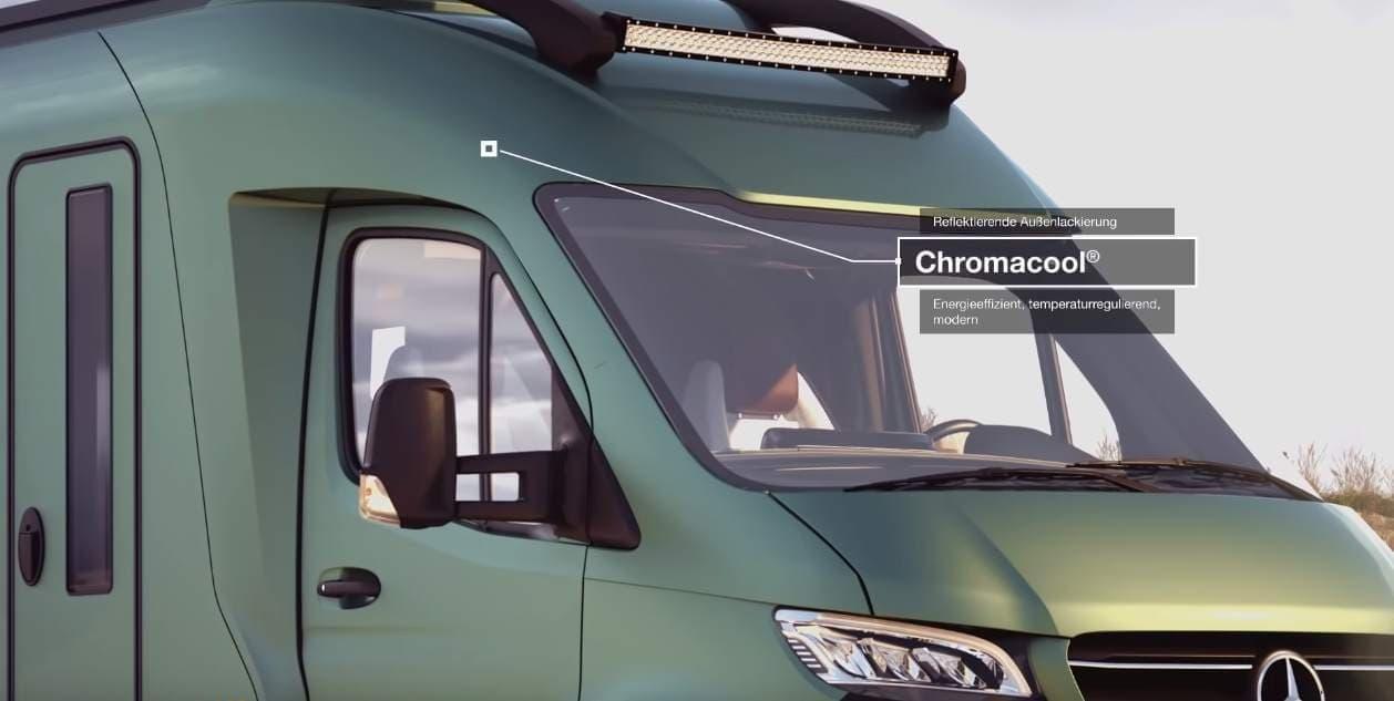 2025年のキャンピングカー「VisionVenture」