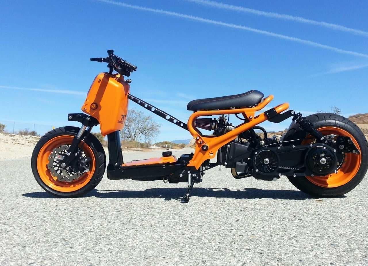 ホンダ「ズーマー」ベースのカスタムバイク、Rucksters Customsが販売中―個性的なルックスをもっと過激に