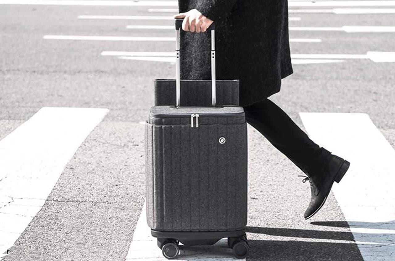 コロコロ転がして発電するスーツケース「ESCAPE S」