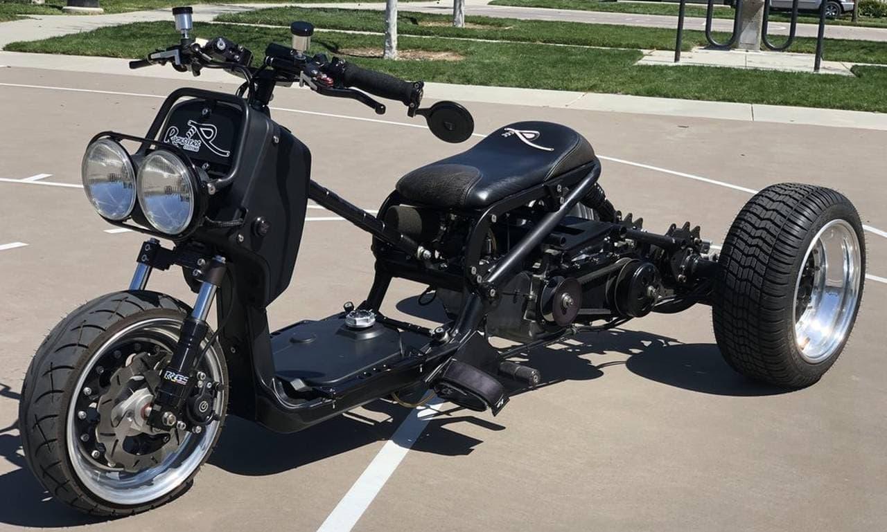 ホンダ「ズーマー」ベースのカスタムバイク、Rucksters Customsが販売中