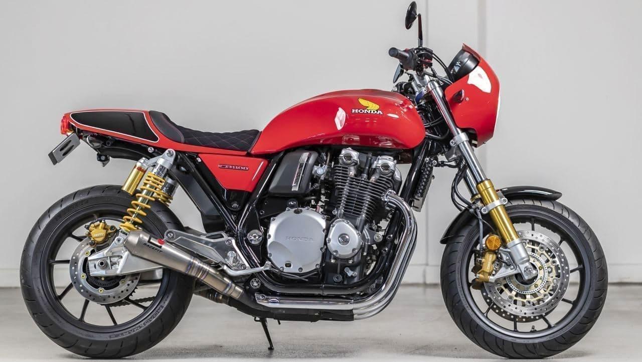 """""""ナナハン""""ホンダ「CB750」50周年を祝う「CB1100RS 5FOUR」、英国で発表―空冷エンジンの美しさはそのままに"""