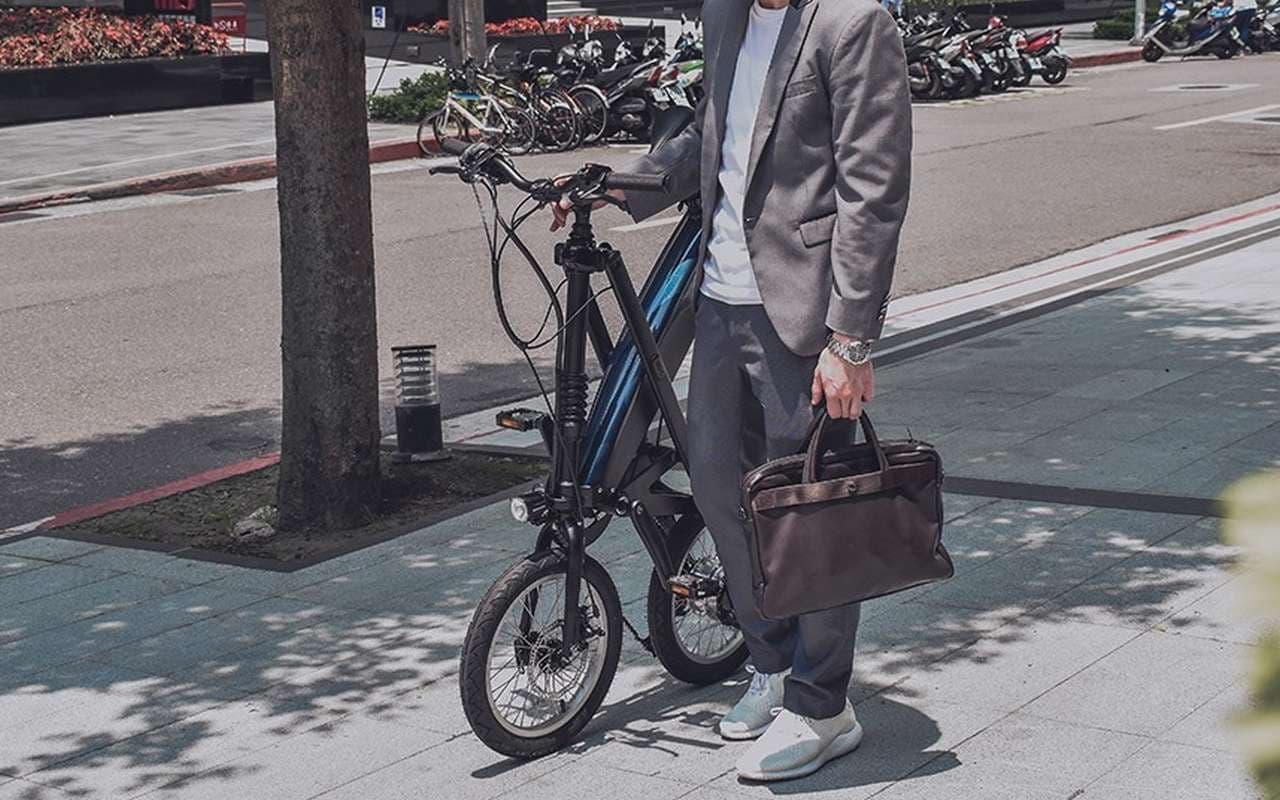 折り畳み電動バイク「SIVRAC」