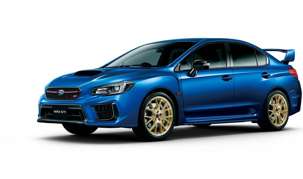 SUBARU WRX STI「EJ20 Final Edition」プロトタイプ