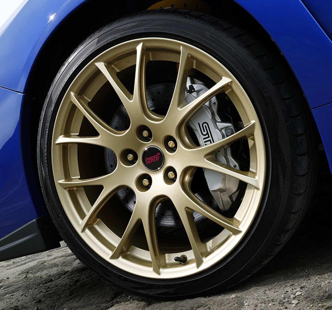 WRX STIの特別仕様車「EJ20 Final Edition」