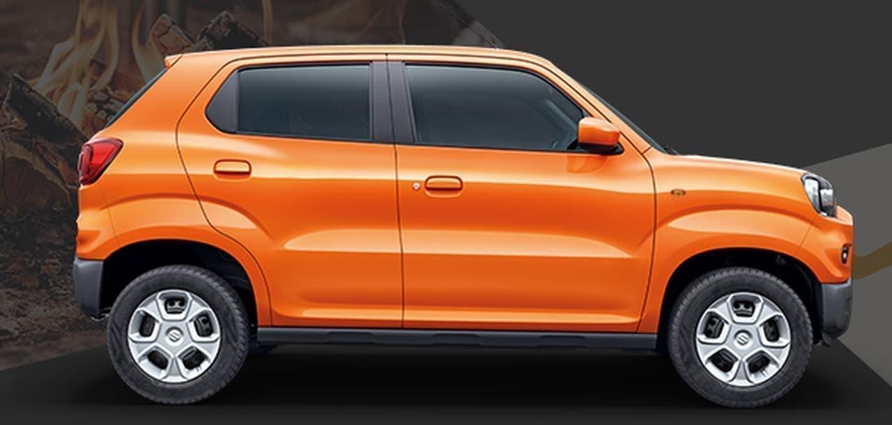スズキの小型SUV「S-PRESSO(エスプレッソ)」、インドで発売