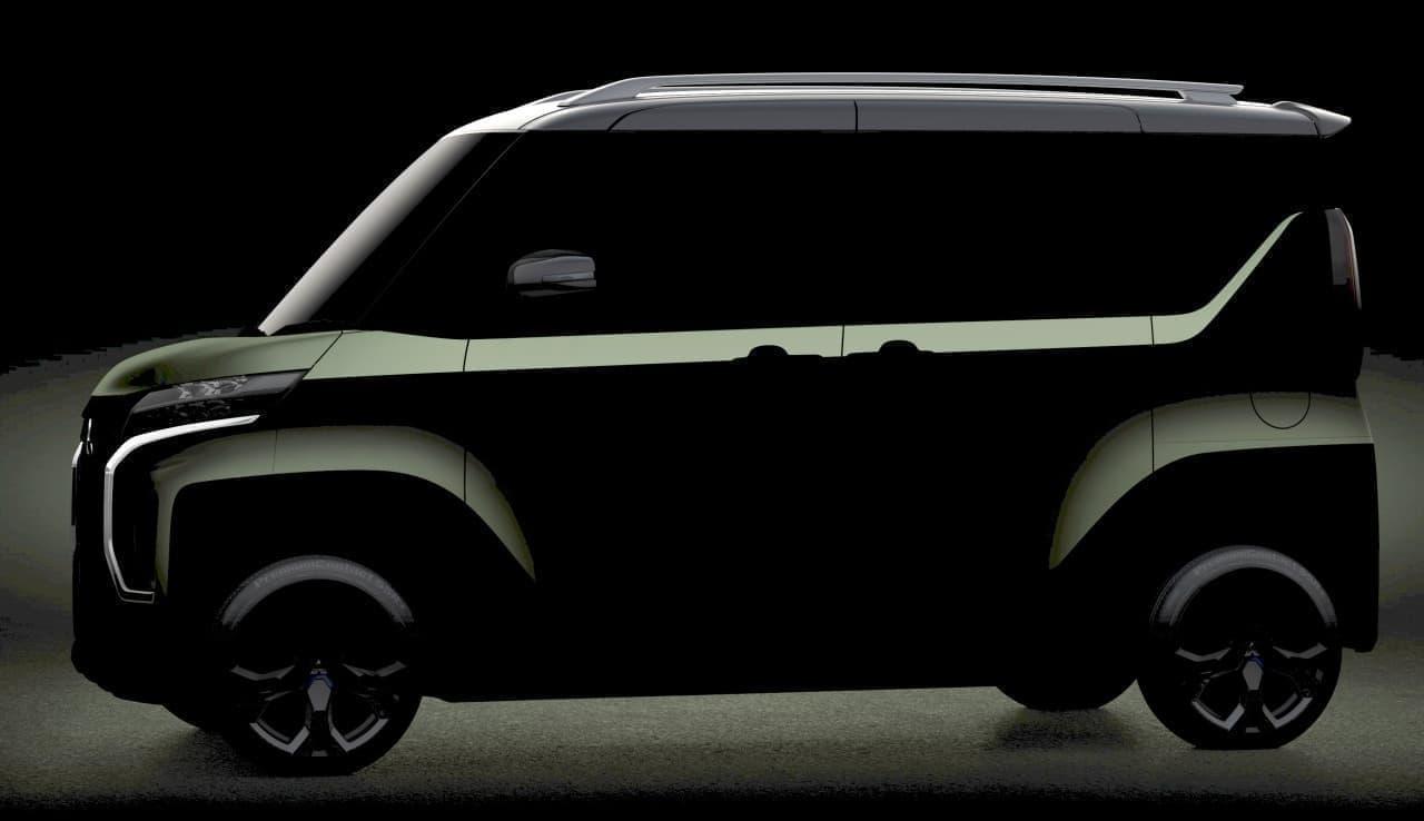 スーパーハイトな新型軽ワゴン三菱「Super Height K-Wagon Concept」