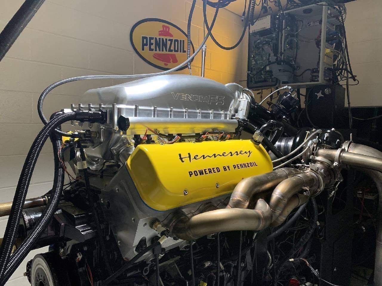 最高出力1,817馬力を達成!時速500キロ超えを目指す「ヴェノムF5」