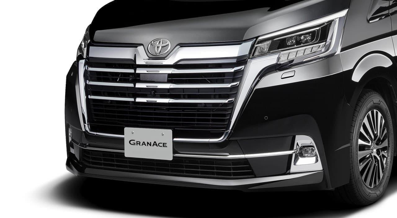 長い! トヨタ新型車「グランエース」、東京モーターショーで初披露