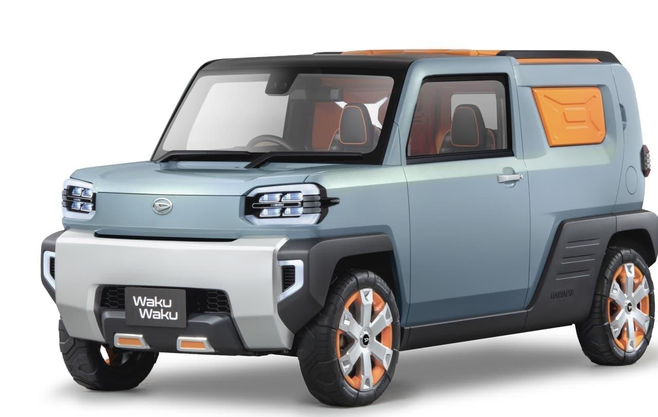 ダイハツ軽SUVのコンセプトカー「WakuWaku」