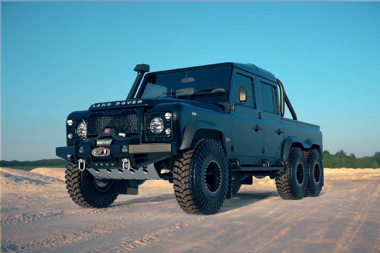 6WDのランドローバー「DEFENDER」