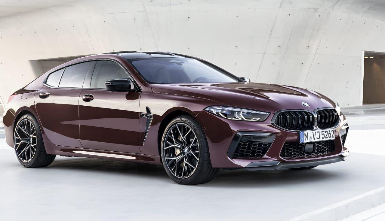 BMW「M8」に4ドアモデル「M8 グラン クーペ」―後部座席の快適性が向上