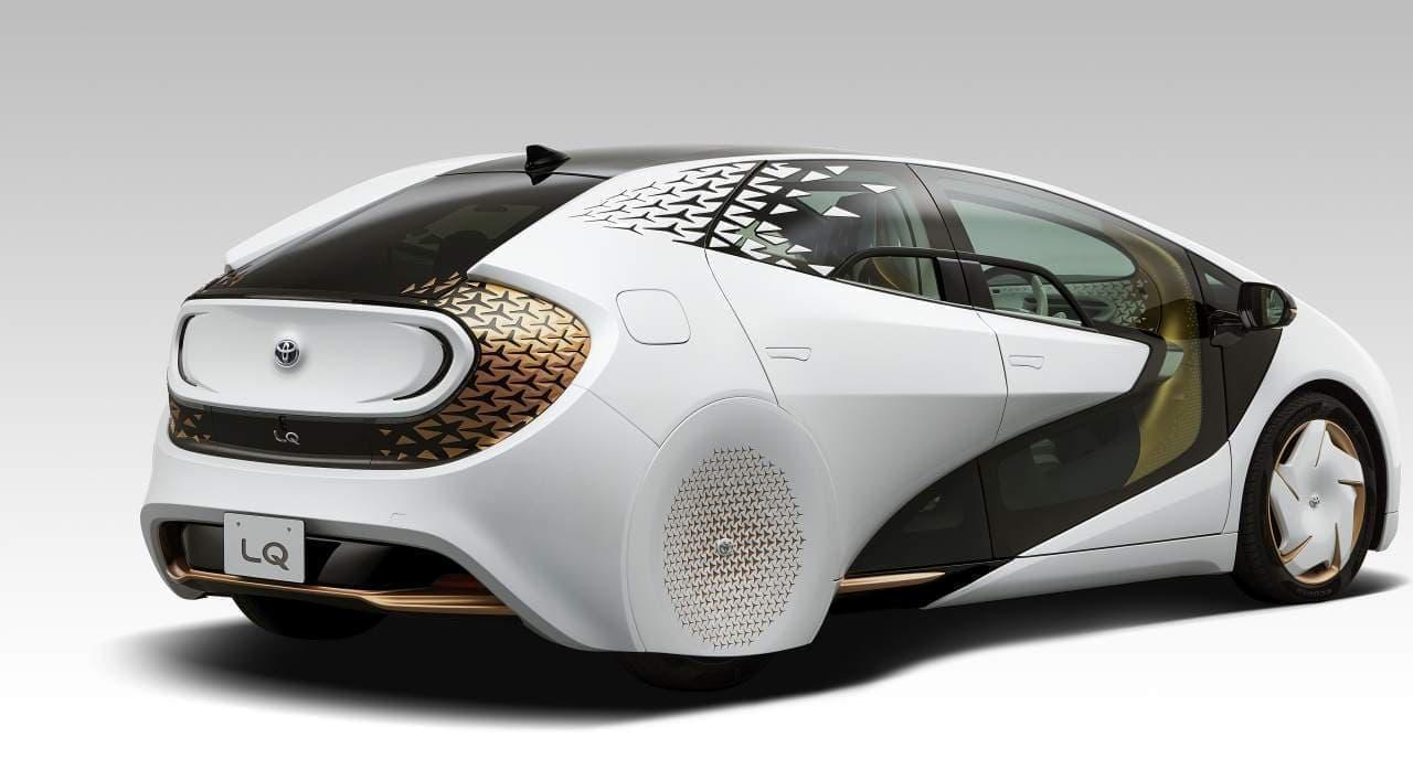 トヨタはコンセプトカー「LQ」