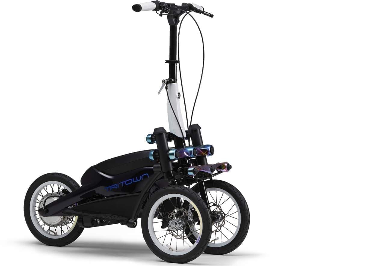 フロント2輪の小型電動立ち乗りモビリティ「TRITOWN」