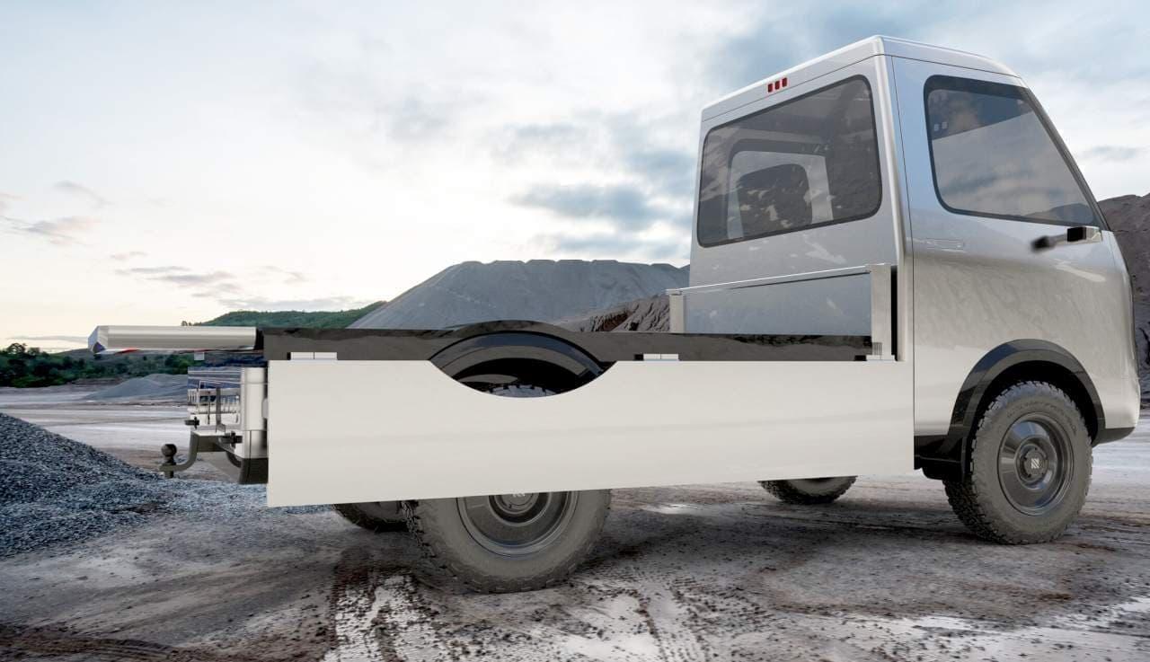 キャンピングカーとしても使える電動トラックNeuron EV「STAR」