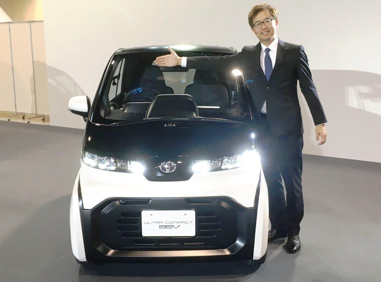 トヨタは「超小型EV」を東京モーターショー2019に出展