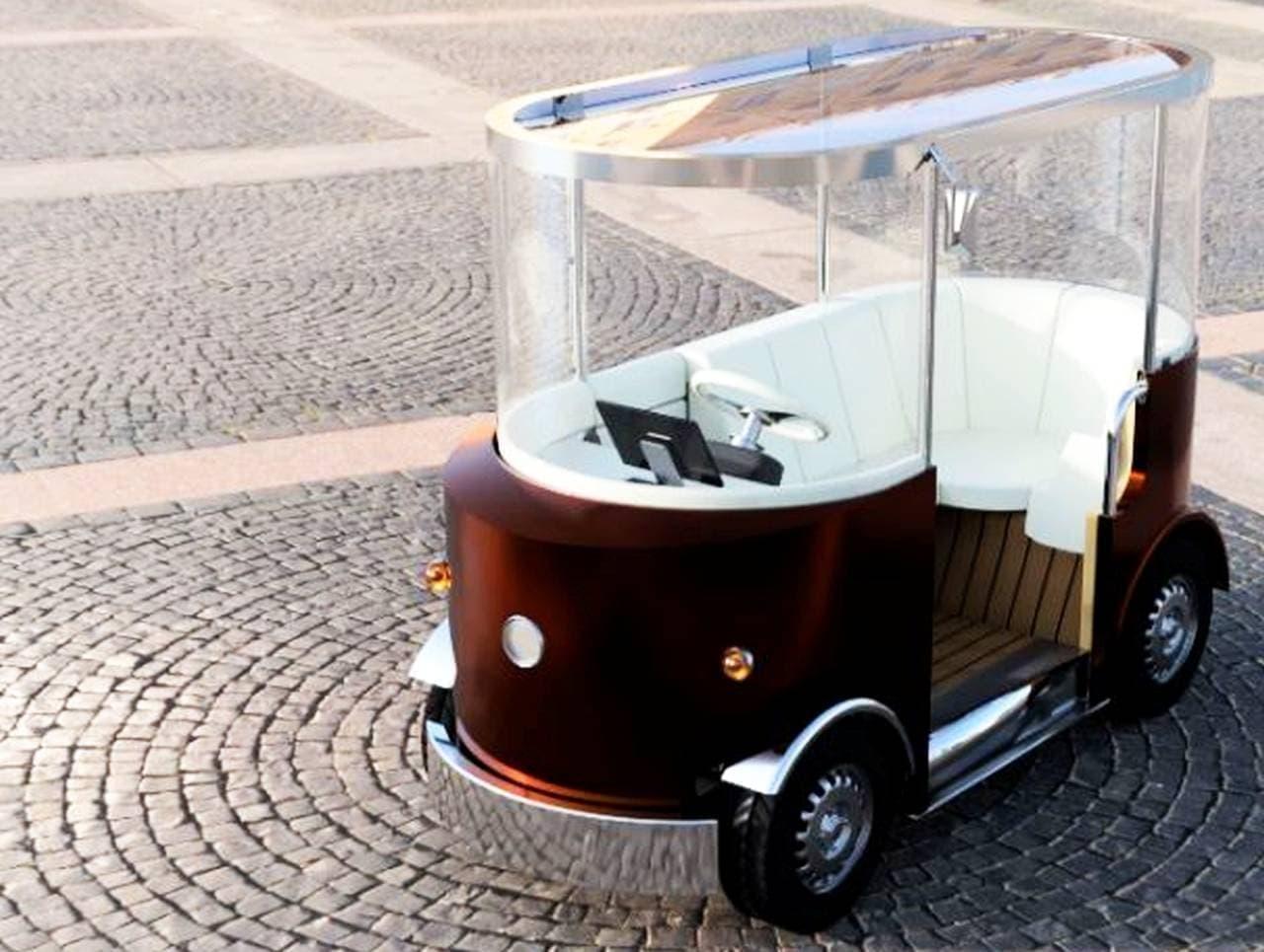 リモートコントロールできる「バトラーカー」、東京モーターショーに登場
