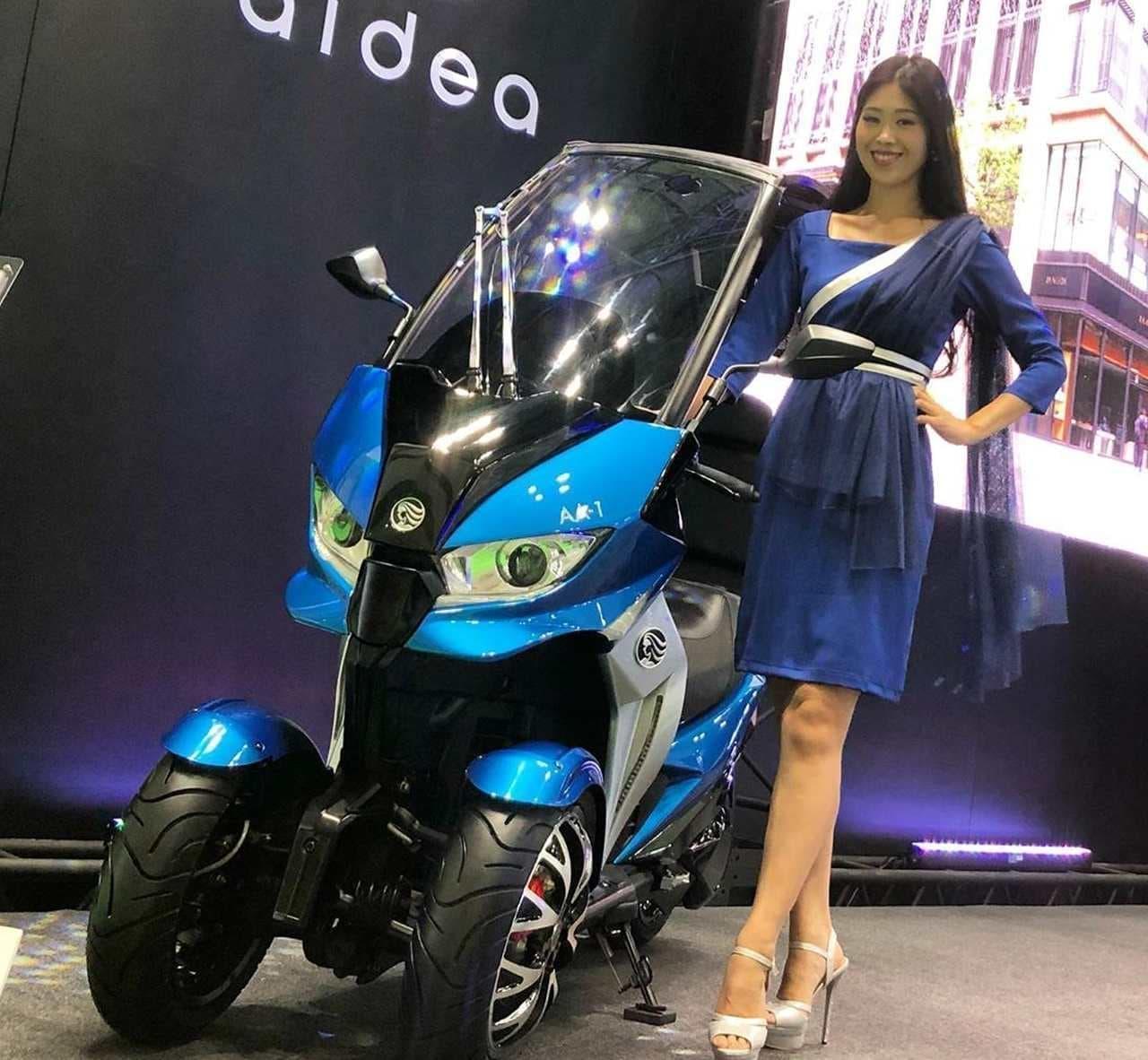 aidea「AA-1」、東京モーターショーでワールドプレミア