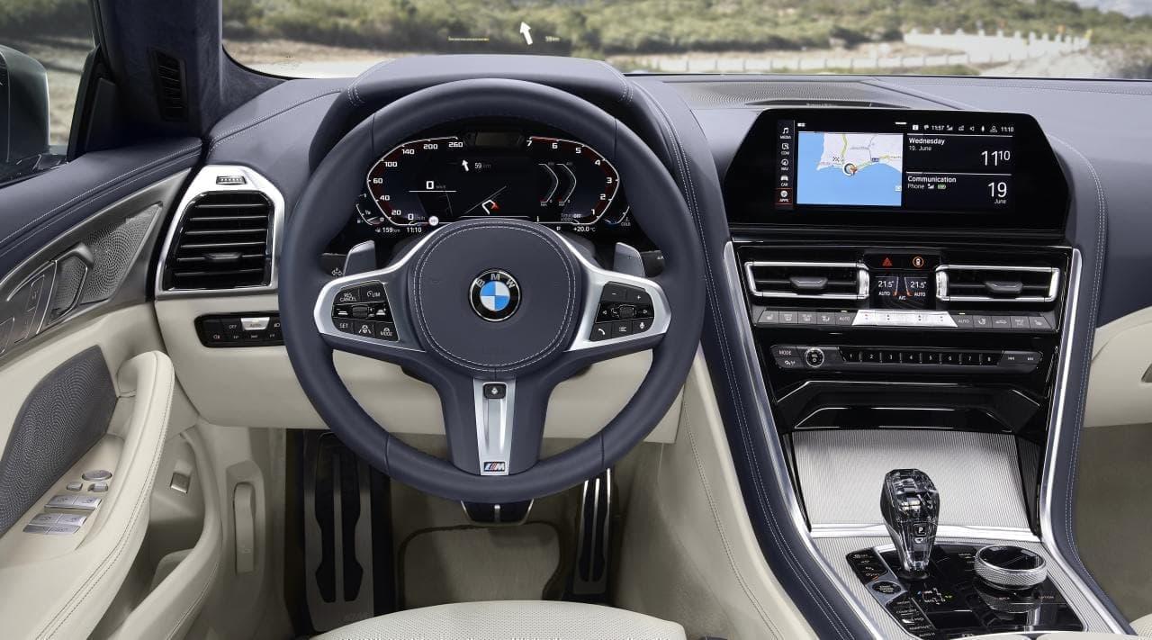 BMW M850i xDriveグラン クーペには、最高出力530PS、最大トルク750Nmを発揮するV型8気筒ガソリン・エンジンが装備されている。