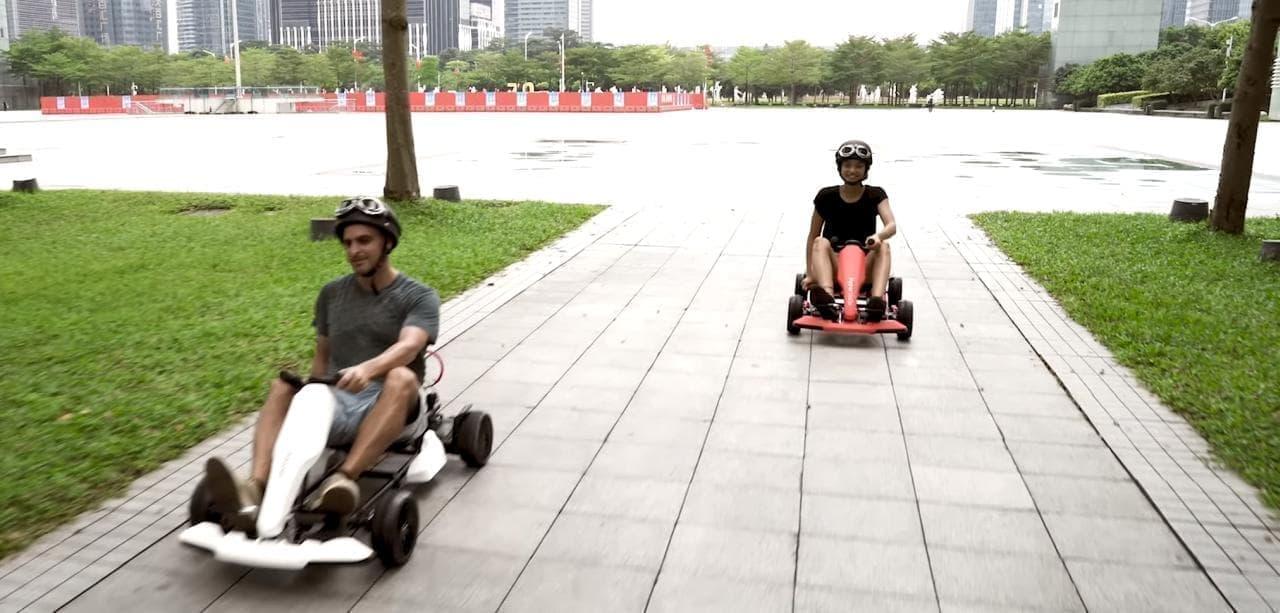 ホバーボードを電動ゴーカートにする「Hyper GOGO Go Kart Kit」