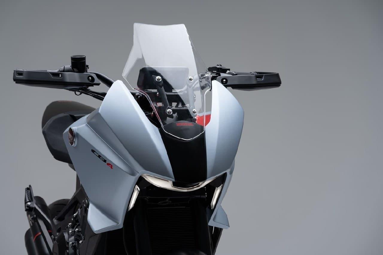 ホンダ「CB4X」公開―スポーツ走行も、ツーリングも諦めたくないライダーに向けたコンセプトモデル