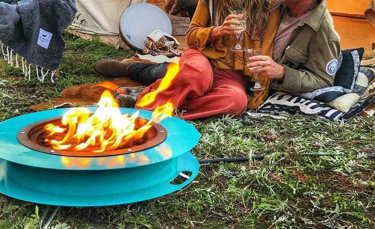 草地でも使える次世代のアウトドアギア Modfire「Travelfire」