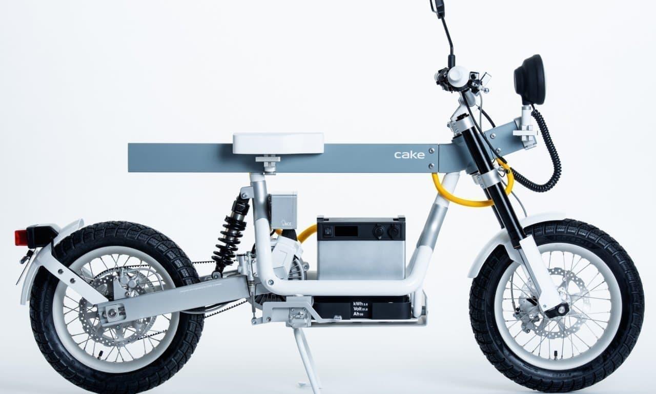 電動ユーティリティバイクCAKEの「Osa」