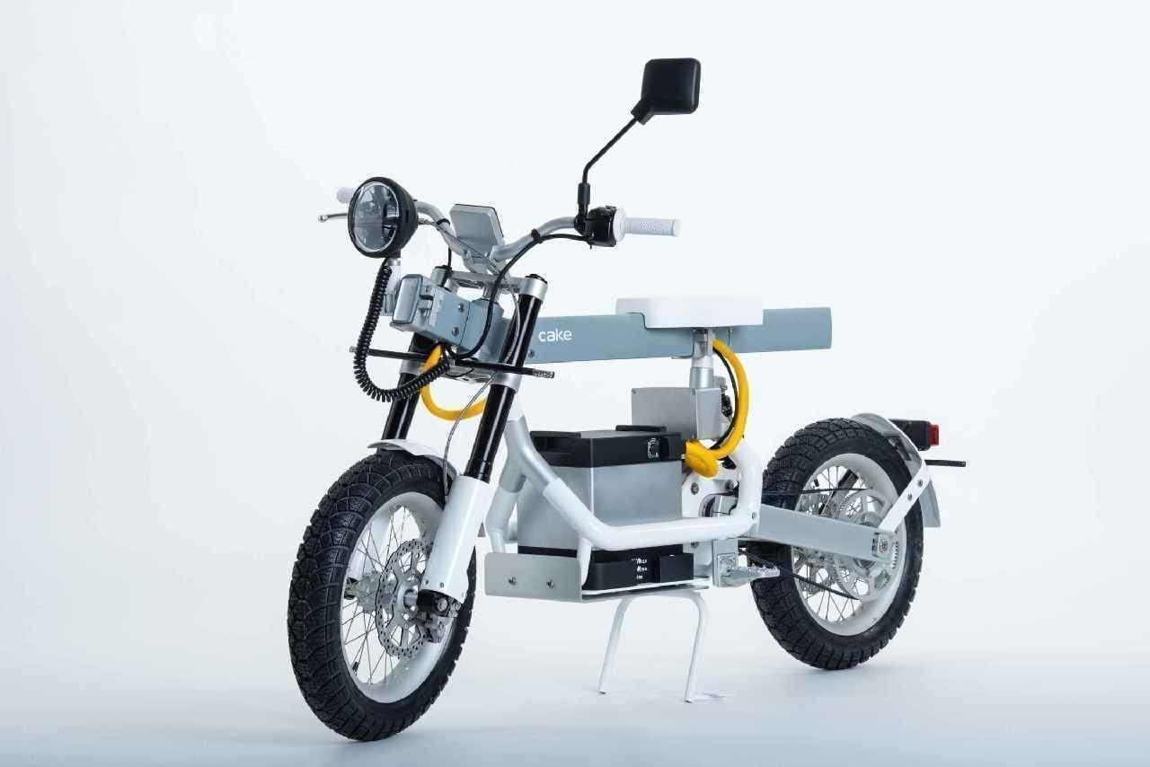 電動ユーティリティバイクCAKE「Osa」