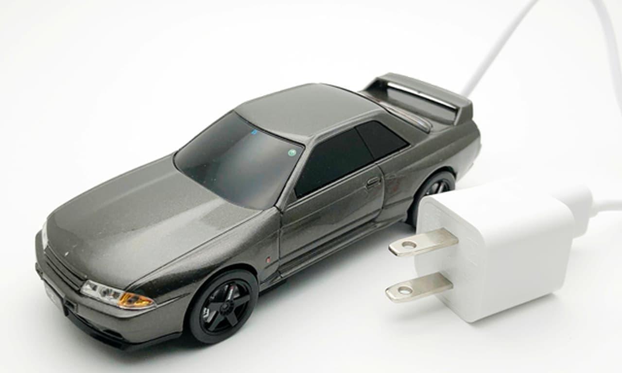 日産スカイラインGT-R NISMO(BNR32)型のモバイルバッテリー販売開始
