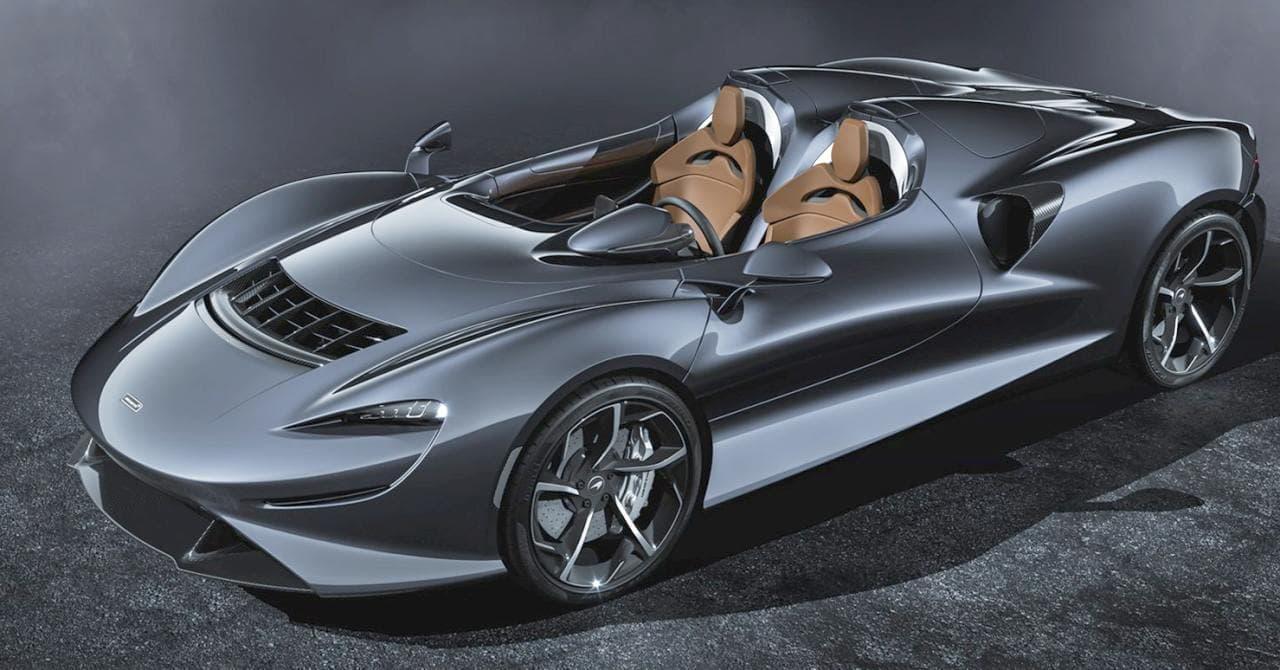 マクラーレンがオープンコックピットのロードスター「Elva」公開