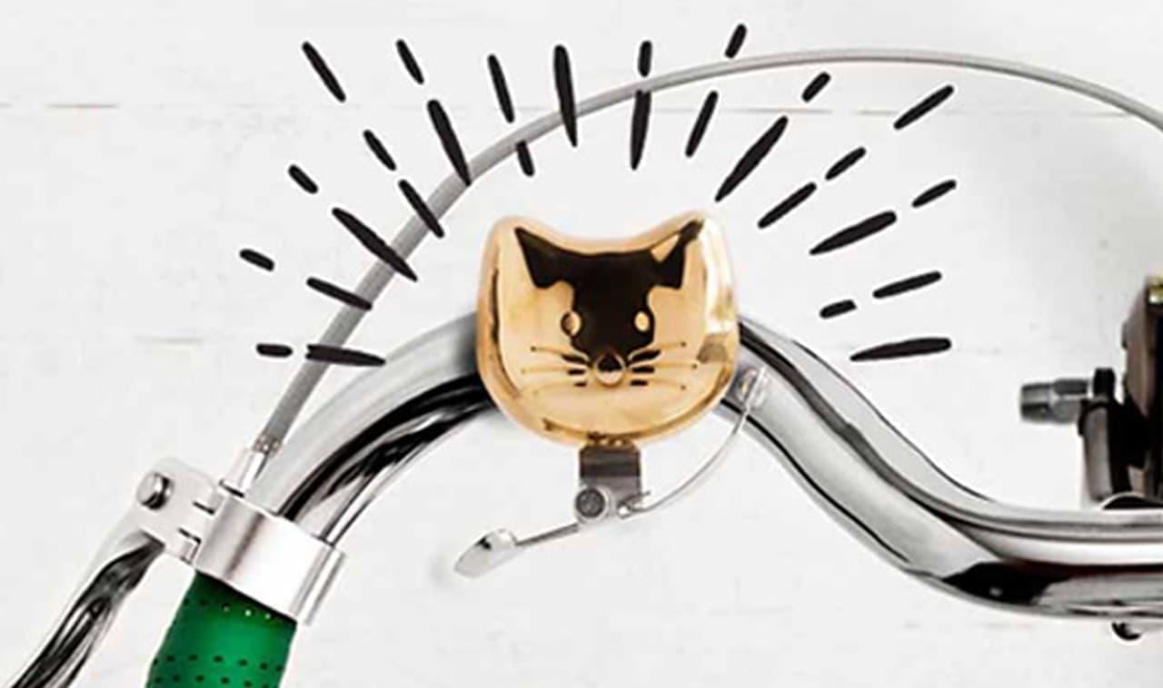 SUCK UKの自転車用ベル「SUCK UK CAT BIKE BELL(サックユーケー キャット バイクベル)」