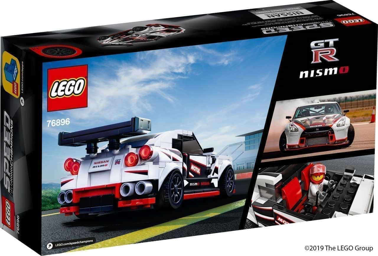 NISSAN GT-R ニスモをレゴで再現した「日産 GT-R ニスモ 76896」世界同時発売