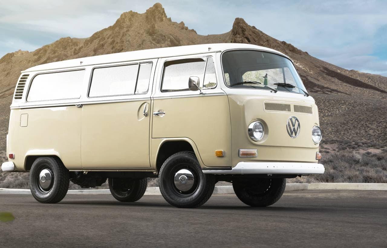 VWが1972年のワーゲンバスを電動化