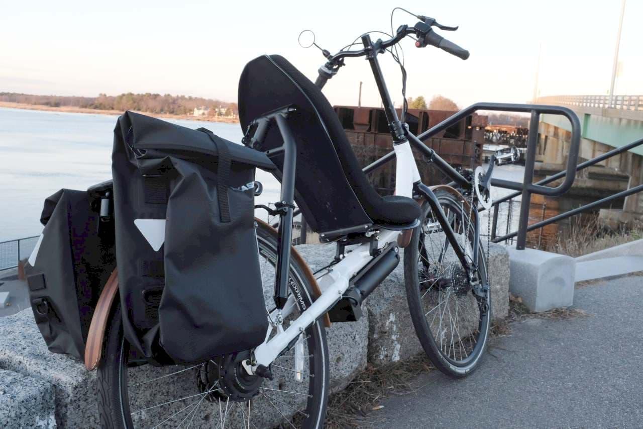 Cruzbikeのリカンベントバイクに、電動アシストバージョン「T50e」