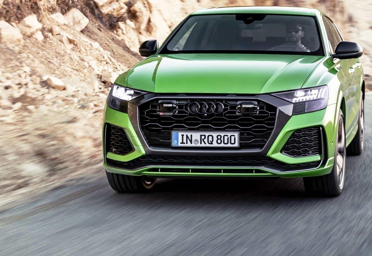 AudiのSUVクーペ「Q8」にパワフルな「RS」