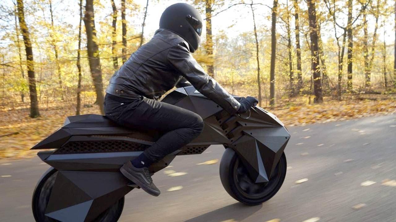 3Dプリンターによるバイク「Loci」