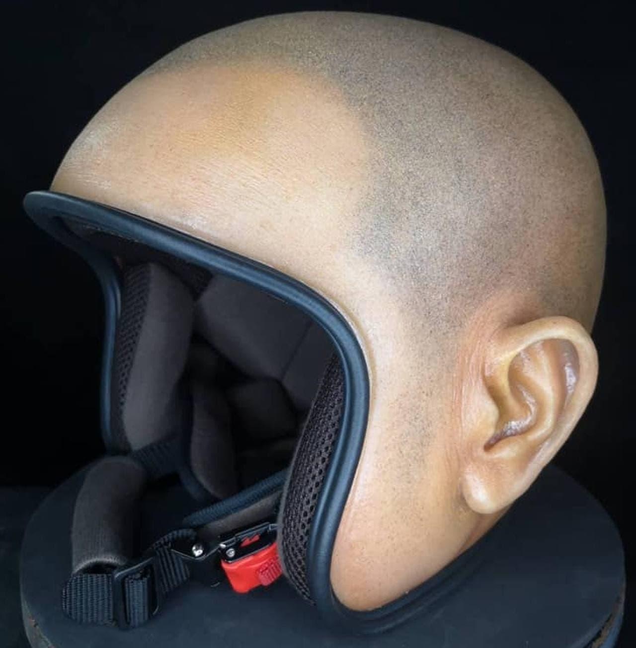 被っていないように見えるヘルメット「HEARMET」、日本からも買えます