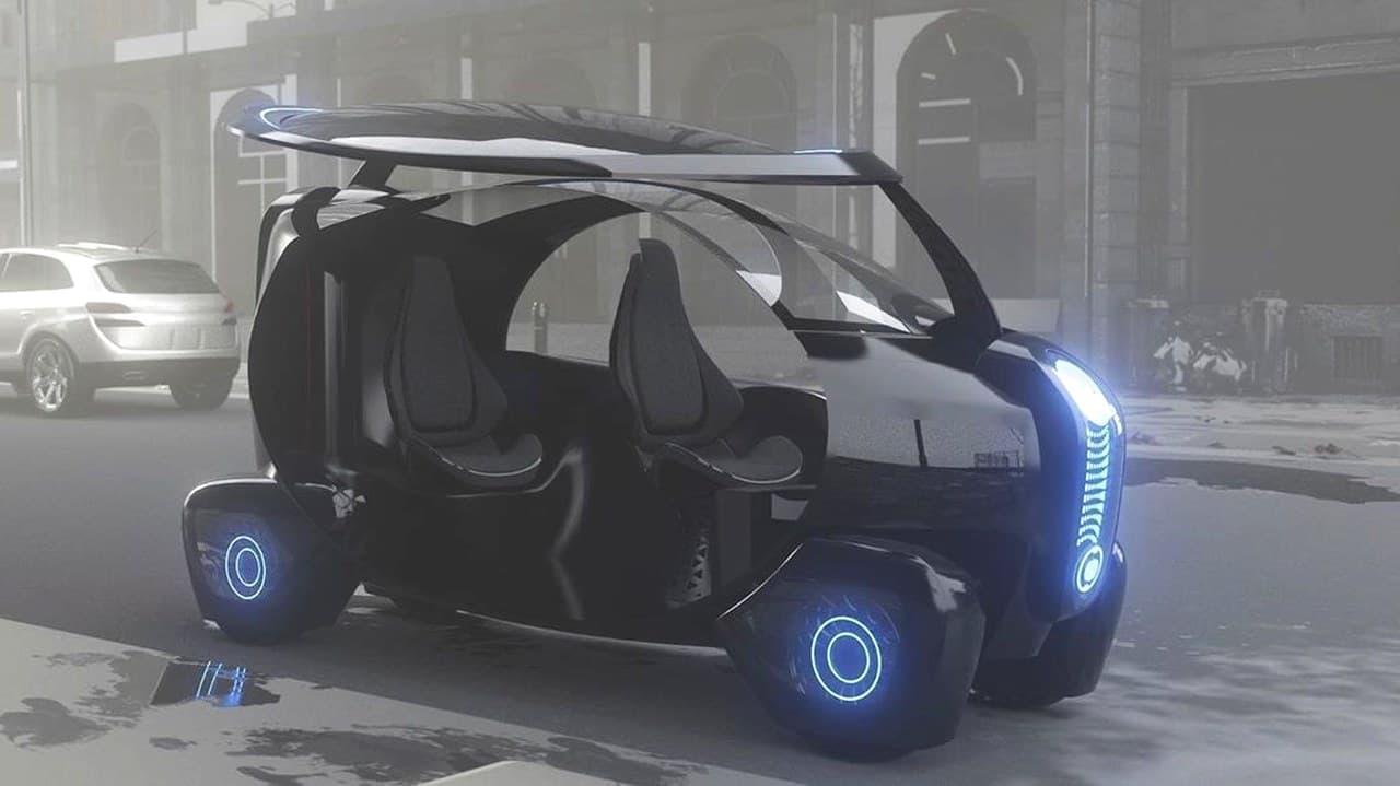 3Dプリンターで出力する電気自動車 BigRep「Loci」