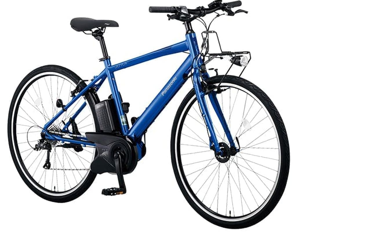 オリンピックグラフィックの電動アシスト自転車「ジェッター」