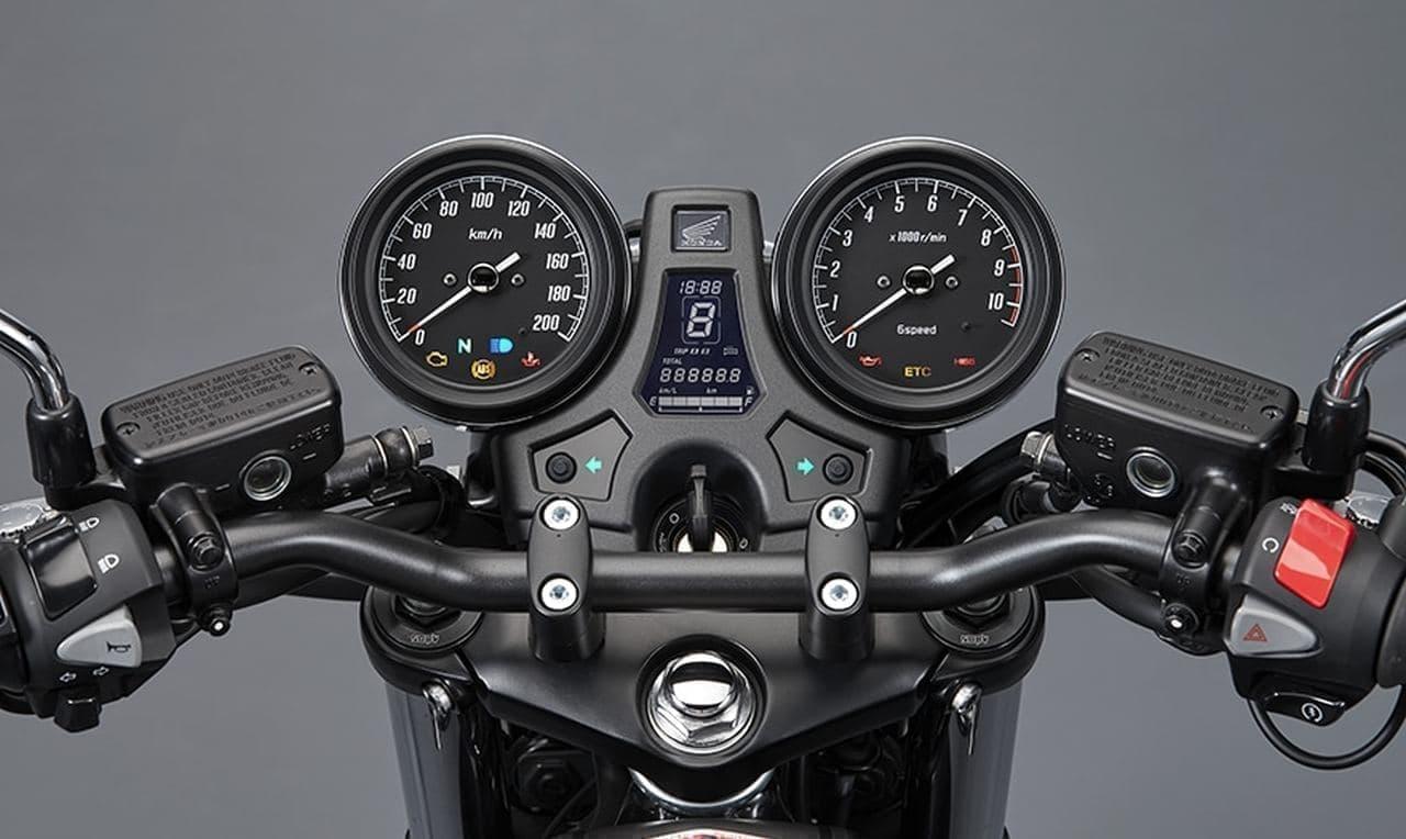 ホンダ「CB1100 RS」に「マットバリスティックブラックメタリック」の特別仕様車、