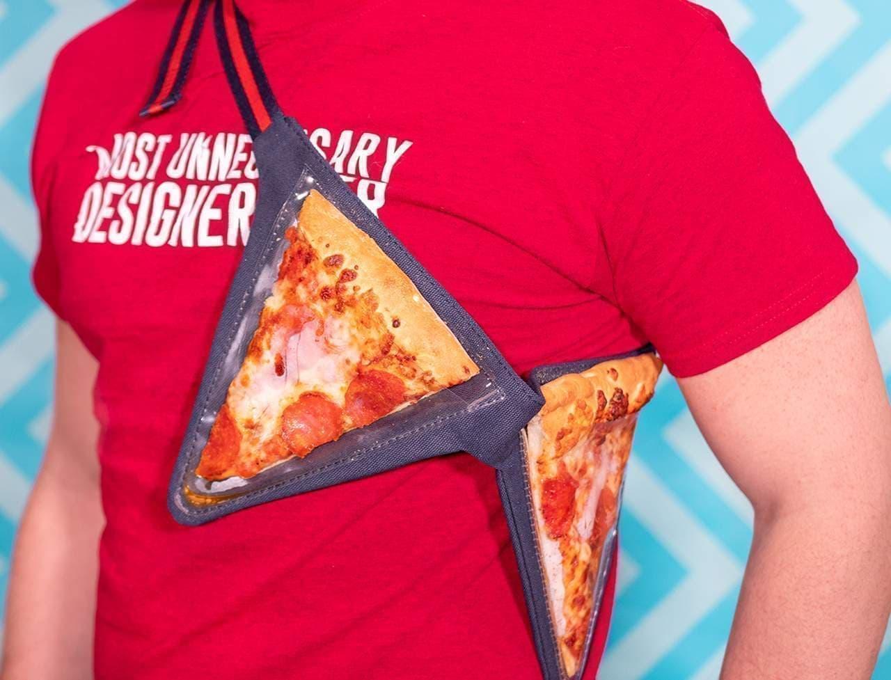 ピザを2枚持ち歩けるポーチ「Pizza Fanny Pack」