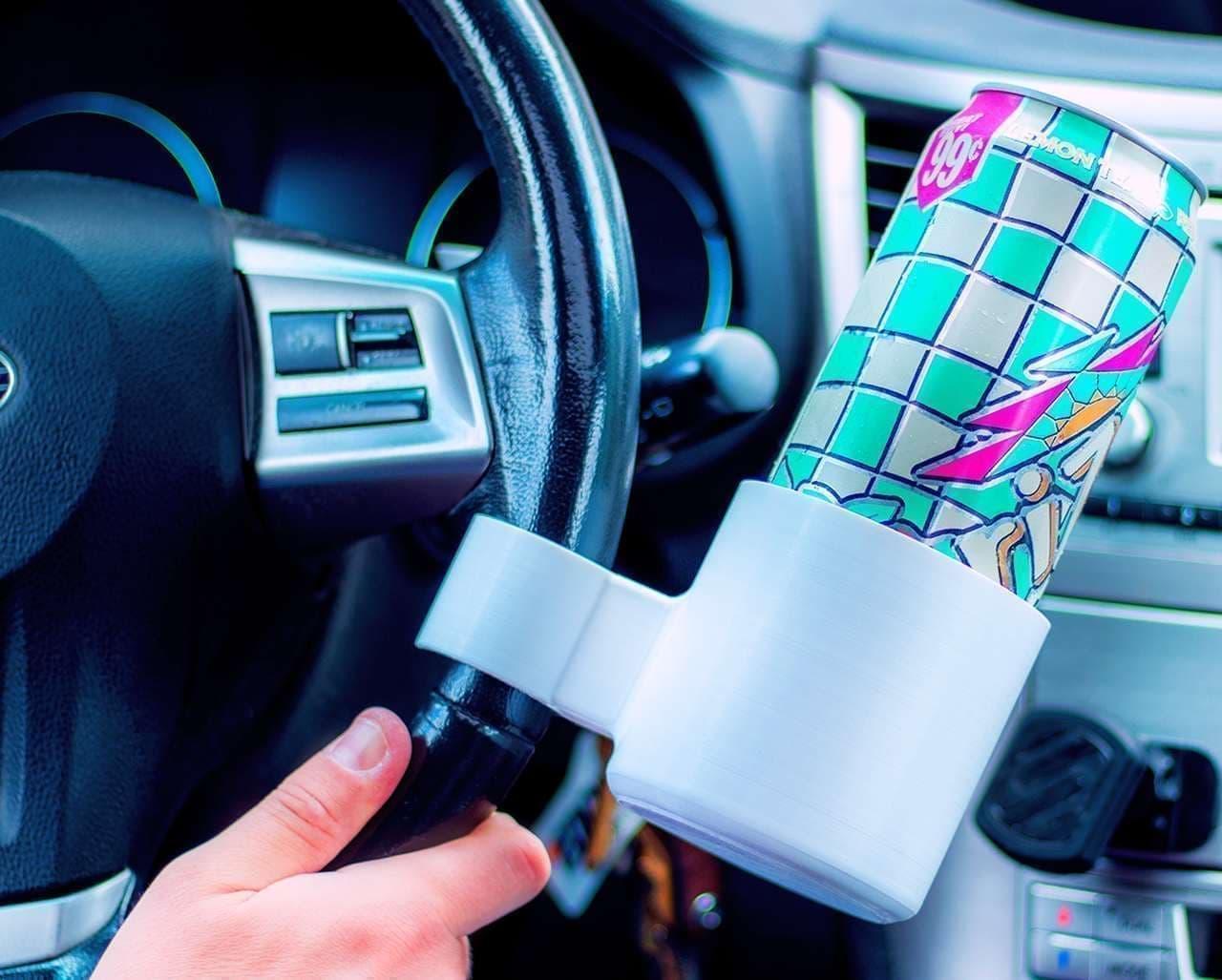 ハンドルに取り付けるカップホルダー「RoadHold」
