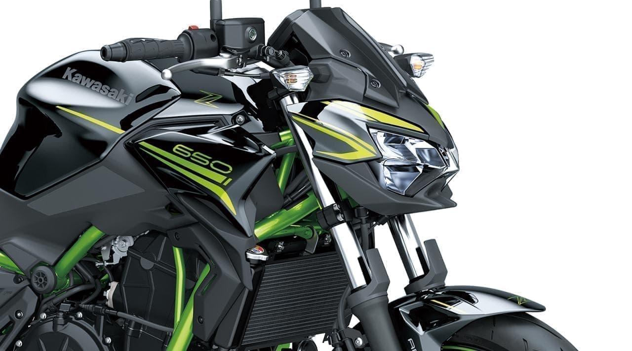 カワサキ「Z650」に2020年モデル