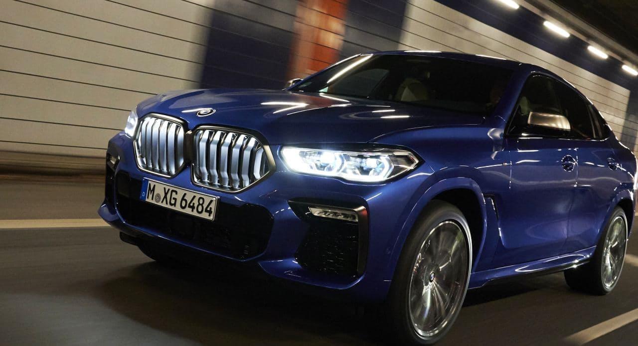 キドニー・グリルが光る!―BMW新型「X6」発売