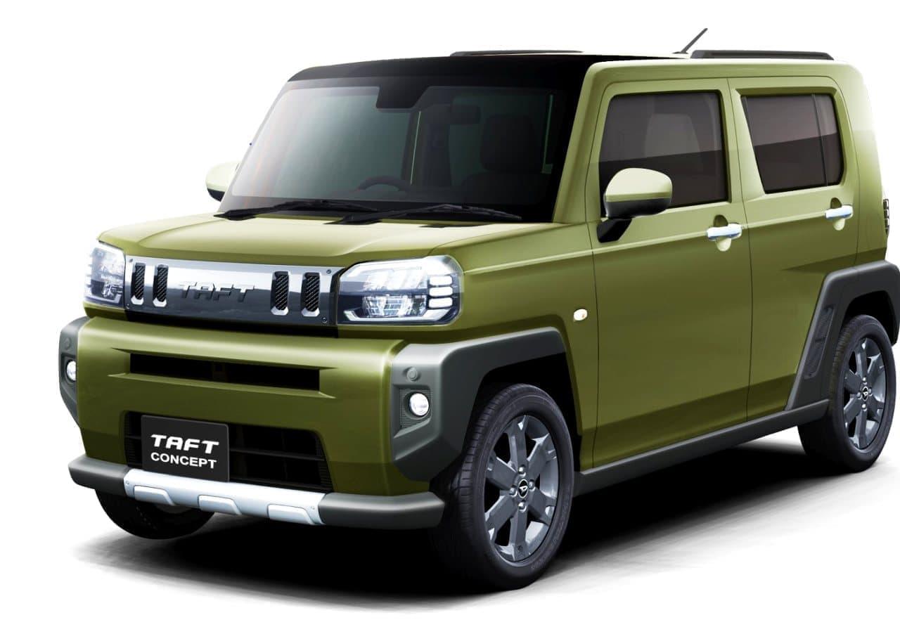 ダイハツの軽クロスオーバー「TAFTコンセプト」、東京オートサロンに出展―発売は2020年中頃