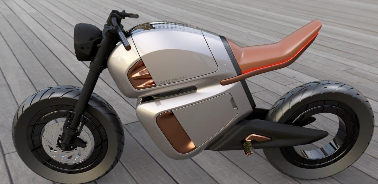1回の充電で300キロ走れる電動バイク「NAWA Racer」―その秘密はウルトラキャパシタ