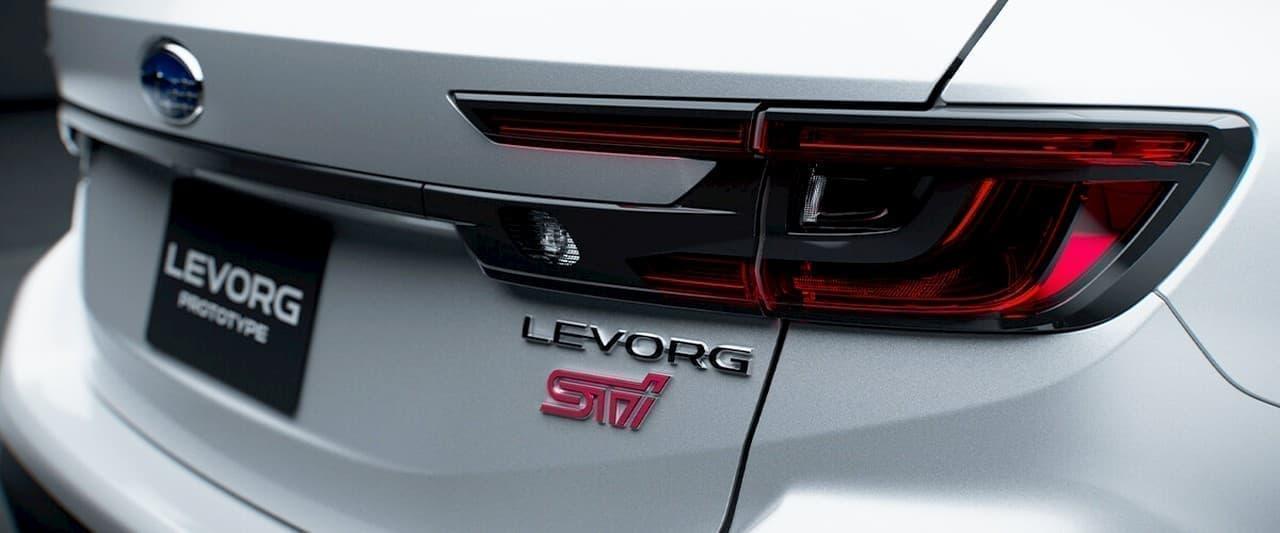 SUBARU新型「レヴォーグ プロトタイプ STI Sport」、東京オートサロンで初公開