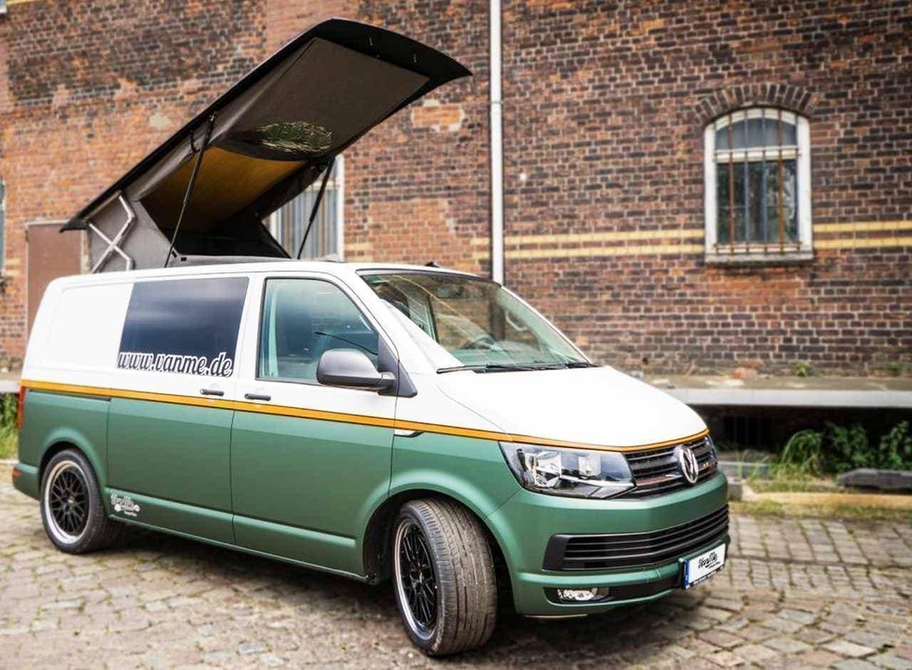 フォルクスワーゲンバンベースのキャンピングカーVanMe「VW T6 2.0 TDI 150PS」