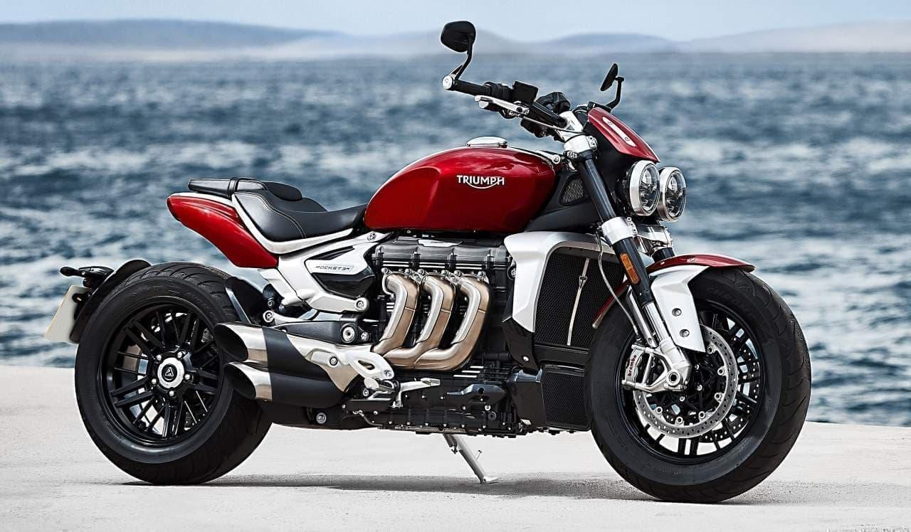 世界最大!排気量2,500ccエンジンを搭載した「ROCKET 3 R」