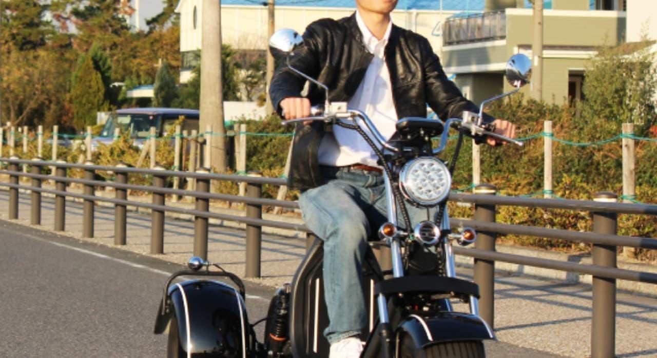 普通自動車免許で公道を走れる電動バイク「BLAZE EV TRIKE」