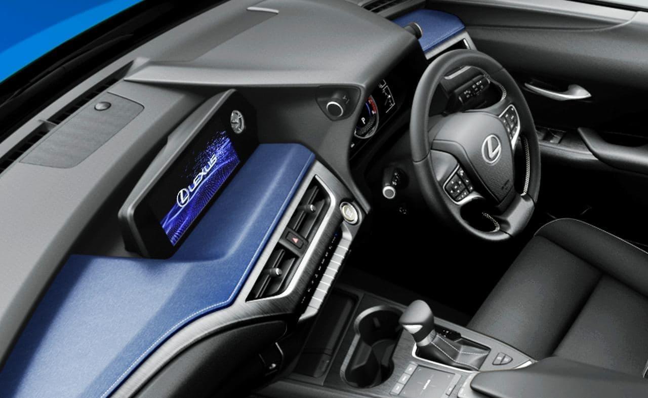 "LEXUS「UX200」に特別仕様車""Blue Edition"""